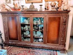 wohnzimmer schrank stilmöbel antik barock gründerzeit