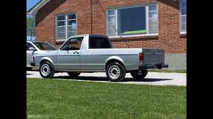 100 Rabbit Truck Volkswagen Pickup