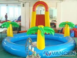 Mini Inflatable Pool Park Kids Jungle Swimming Slide Factory