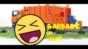 Garbage Trucks - For Children In Work, Kids Garbage Truck (2018 ...