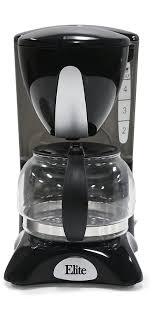 elite cuisine llc amazon com elite cuisine ehc 2022 maxi matic 4 cup coffee maker