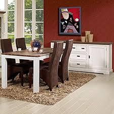 esszimmermöbel holz weiß und braun de küche