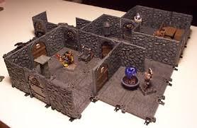 3d Dungeon Tiles Kickstarter by Ye Olde Inn U2022 View Topic Twisting Catacombs Dungeon Scenery