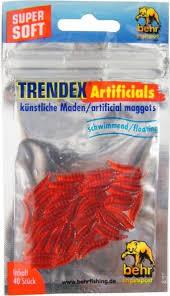 100 stk angeln köder künstliche leuchtend maden gummimaden