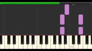 sinking piano easy sinking hillsong easy piano tutorial synthesia sheet