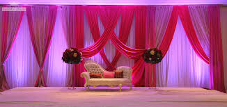 Pink And Purple Color Wedding Stage Decor 30 Decoration Ideas