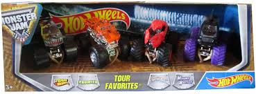 100 Team Hot Wheels Monster Truck Buy Jam Tour Favorites 3
