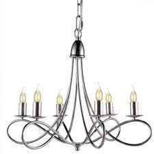 Polished Nickel Chandeliers You ll Love