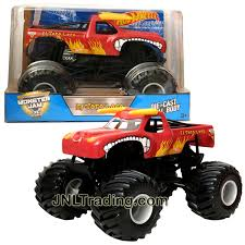 Hot Wheels Year 2017 Monster Jam 1:24 Scale Die Cast Metal Truck ... Monster Jam Trucks New For 2017 Truck Pulls Off First Ever Successful Frontflip Trick Upc 8961018752 Hot Wheels Shark Diecast Vehicle Year 2012 124 Scale Die Cast Truck Metal Body Ccv08 2011 Series Wiki Fandom Powered By Wikia Top 20 Items Daxushequcom 100 El Toro Loco Diecast Toy Inspirational Big Wheel Toys 7th And Pattison Amazoncom Monster Jam Sound Smashers El Toro Loco Vdeo Dailymotion