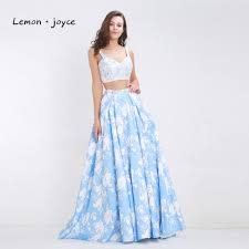 popular light blue dresses for prom lace buy cheap light blue