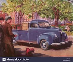 100 1947 Studebaker Truck Coupe Express Pickup Stock Photo 184278528