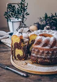 marmorkuchen einfaches rührkuchen rezept