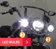 performance lights and bulbs for motorcycles
