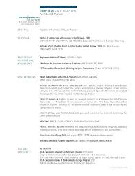 Project Architect Resume Sample Free Templates Manager T