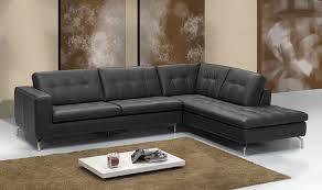 canap d angle cuir canapé d angle cuir italien noir sofamobili