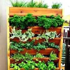 Pallets For Gardening Vertical Pallet Garden With Pots