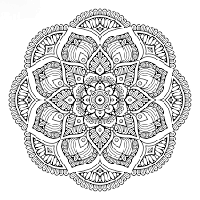 Mandalas Tibetano Pintar Art Mandala Patterns Mandala