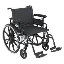 Transport Chair Walmart Canada by Drive Fly Lite Ultra Lightweight Plaid Transport Wheelchair Dfl19