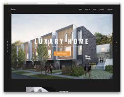 100 Home Design Websites 24 Best Responsive Interior Website Templates 2019