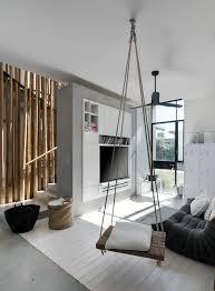 die schaukel schaft eine lockere ambiente haus interieurs