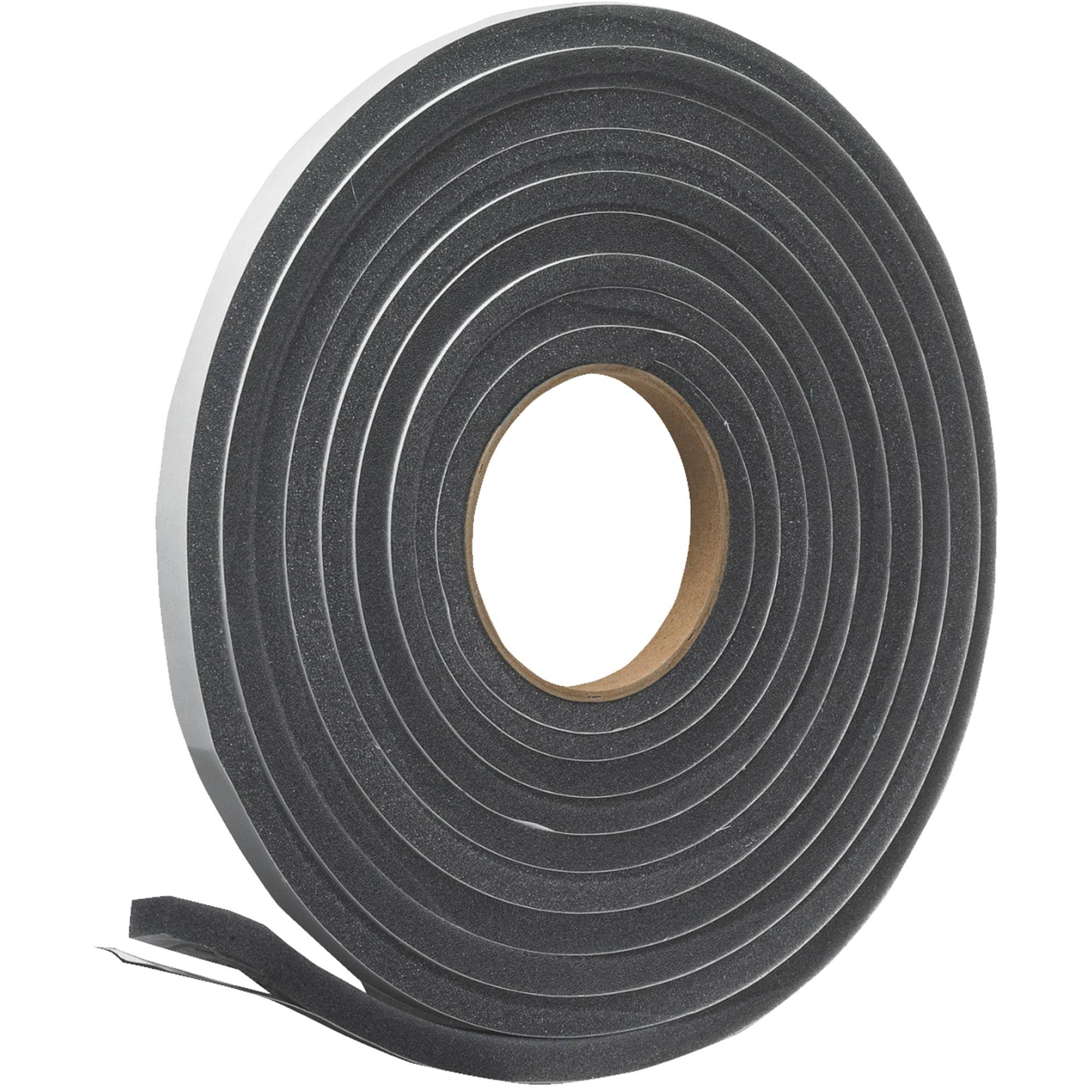 "Do It Open Cell Poly Foam Weatherstrip Tape - 1/2"" x 1/2"" x 17'"