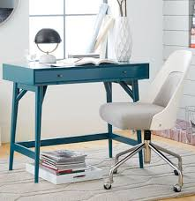 turquoise office decor by color