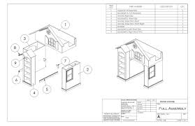 Loft Bed Woodworking Plans by Bunk Bed House Loft Woodworking Plans And Instructions Surripui Net