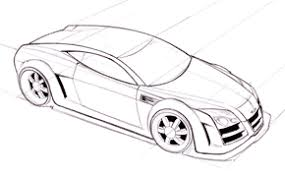 Car Drawing Steps Video