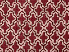 Xanadu In Color Chinese Red Fabric Printed Madeintheusa Red