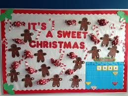Its A Sweet Christmas Bulletin Board Idea