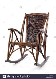 Bamboo Rocking Chair Stock Photos & Bamboo Rocking Chair Stock ...