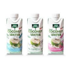 100 Coco Republic 24 Per Carton Natural Nut Water 330mlx24 Food