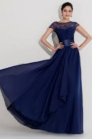 blue long dress with short sleeves naf dresses