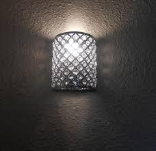 battery powered wall sconce lighting ideas tea light mirror wall