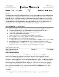Writing A Nursing Resume Er Nurse Example Examples With Clinical Experience Australia