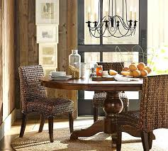 Pottery Barn Kitchen Tables Table Round
