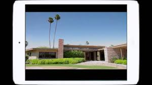 100 Palm Springs Architects Modern MidCentury Architecture Tour App YouTube