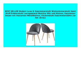 best buy modern luxe esszimmerstuhl wohnzimmerstuhl samt
