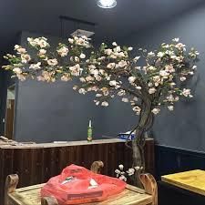künstliche baum magnolia baum fenster dressing innen wohnzimmer grün pflanzen modellierung bonsai die boden künstliche blumen