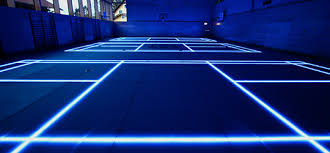 style glass flooring for the discerning gamer s cave