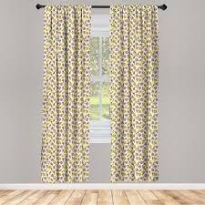 gardine fensterbehandlungen 2 panel set für wohnzimmer schlafzimmer dekor abakuhaus eis leckere kleine kuchen kaufen otto