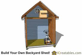 8x12 Storage Shed Blueprints by 8x12 Traditional Victorian Backyard Shed Plans Icreatables Com