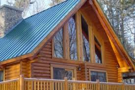 How to stain and finish a log home