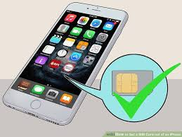 4 Ways to Get a SIM Card out of an iPhone wikiHow