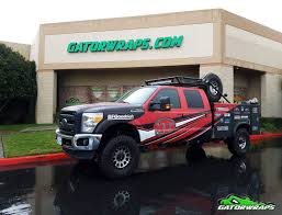 100 Ford F250 Utility Truck AGA Wrap Gator Wraps