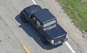 2019 Jeep Scrambler Pickup Truck Spied Off-Roading On The Rubicon ... Jeep Truck 2019 Review Rubicon New Trucks For Car 2015 Wrangler Anvil Color The Best Scrambler Pickup Spied Offroading On Rubicon4wheeler Trends Indepth Look At 10th Anniversary Stock Vs Trail Automobile Magazine Out Testing Quadratec Img80717_201638 2018 Forums Jl Jt 2016 Hero Complete Customs News Photos Price Release Date What Jeep Wrangler Rubicon 181156 And Suv Parts Warehouse Rcmodelex Jk 110 Scale Yellow Shell