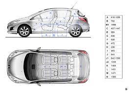 taille coffre nouvelle 308 la nouvelle gamme peugeot 308 2011 efficace et élégante automania