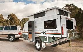 Trakmaster Gibson Compact Rugged Off Road Caravan Toy Hauler TrailersCamp