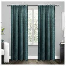 Dkny Mosaic Curtain Panels by Dkny Urban Luster 63 Inch Back Tab Window Curtain Panel In Linen