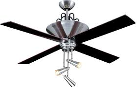 Ceiling Fans With Uplights by Ellington Fans 17390 Brushed Chrome Motor With Black And Rosewood